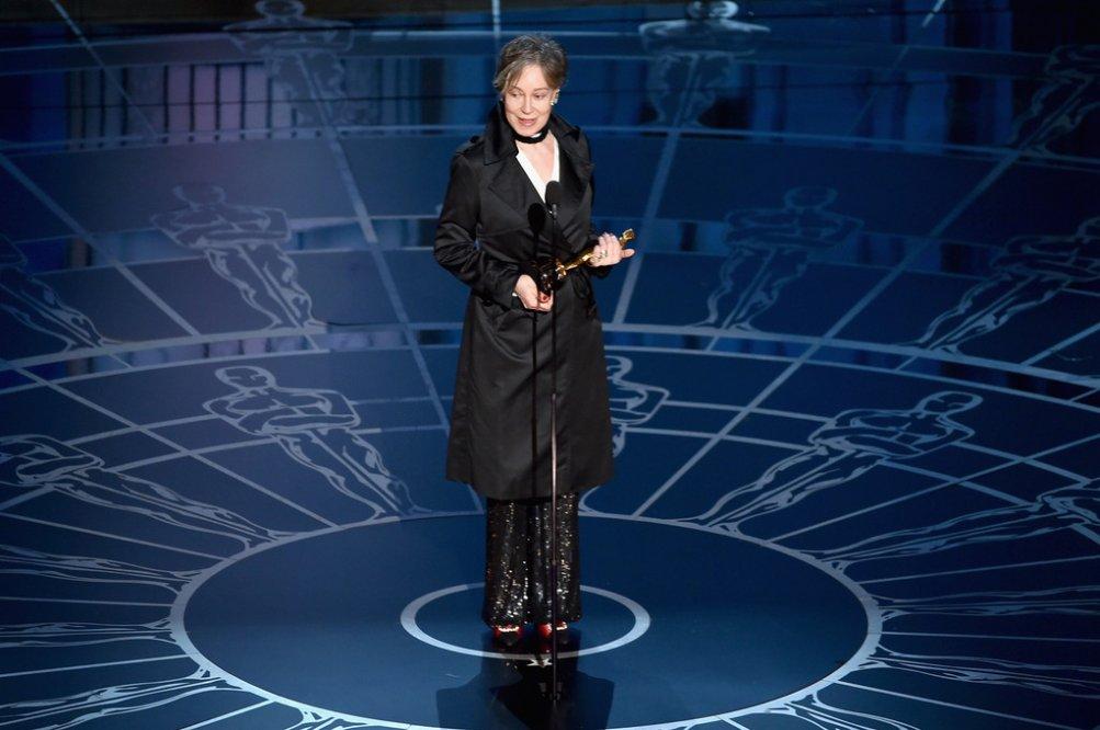 Milena Canonero premiata agli Oscar 2015 per i costumi di Grand Budapest Hotel