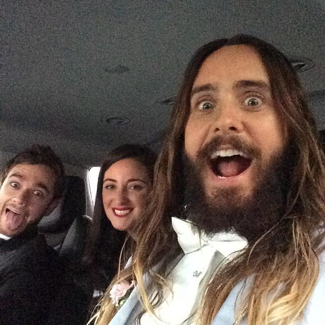 Oscar 2015: il selfie di Jared Leto
