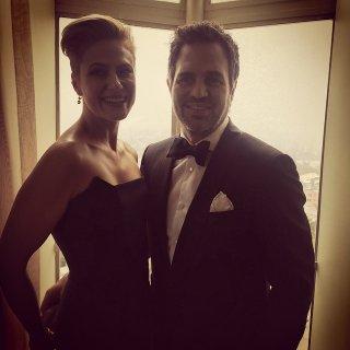 Oscar 2015: Mark Ruffalo e la moglie
