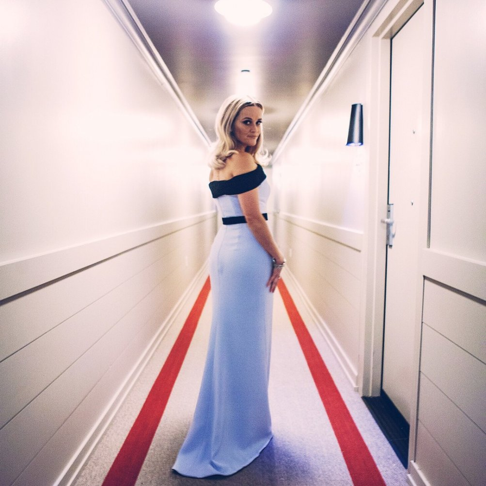 Oscar 2015: Reese Witherspoon e il suo abito firmato Tom Ford