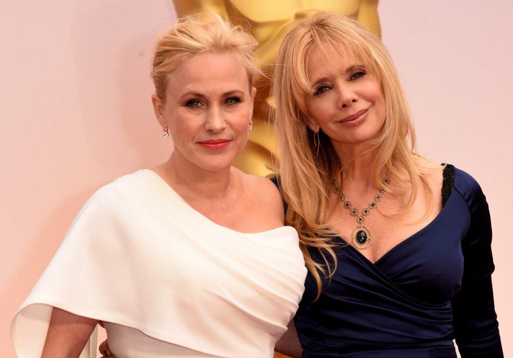 Oscar 2015 - Patricia e Rosanna Arquette sul red carpet