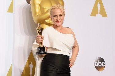 Patricia Arquette vincitrice agli Oscar 2015