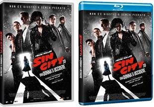 Le cover homevideo di Sin City - Una donna per cui uccidere