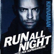 Run All Night - Una notte per sopravvivere: il character poster italiano di Joel Kinnaman