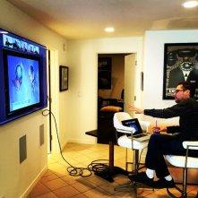 X-Men: Apocalypse - Bryan Singer al lavoro di fronte alla tv