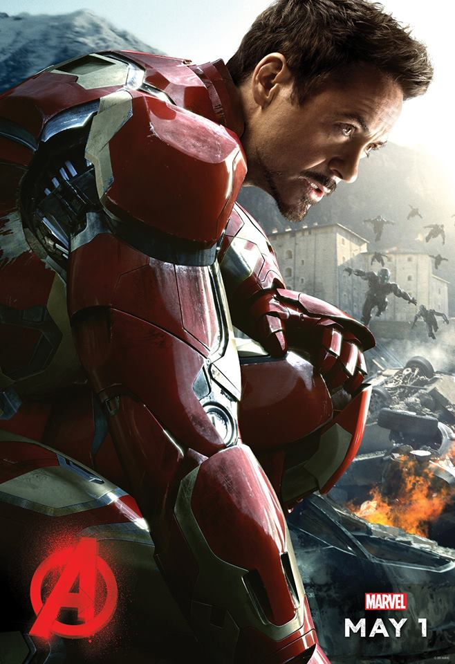 Avengers: Age of Ultron: il character poster di Iron Man