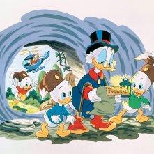 DuckTales: un'immagine della serie animata Avventure di paperi