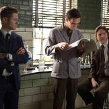 Gotham: Ben McKenzie, Cory Michael Smith e Donal Logue in The Scarecrow
