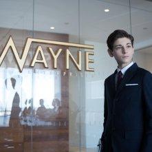 Gotham: David Mazouz in una scena dell'episodio The Blind Fortune Teller