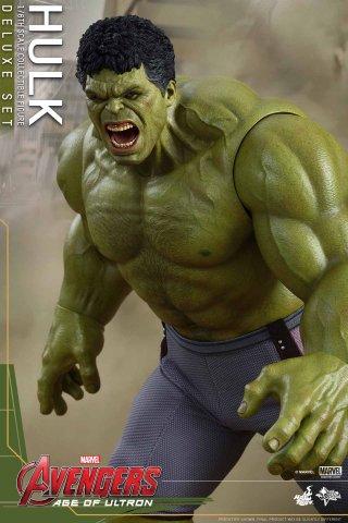 Avengers: Age of Ultron - L'urlo ravvicinato dell'action figure Hot Toys di Hulk