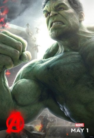 Avengers: Age of Ultron - il character poster di Hulk