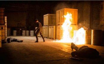 Daredevil: il protagonista impegnato in uno scontro
