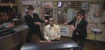 The Blues Brothers: una scena con Dan Aycroyd e John Belushi