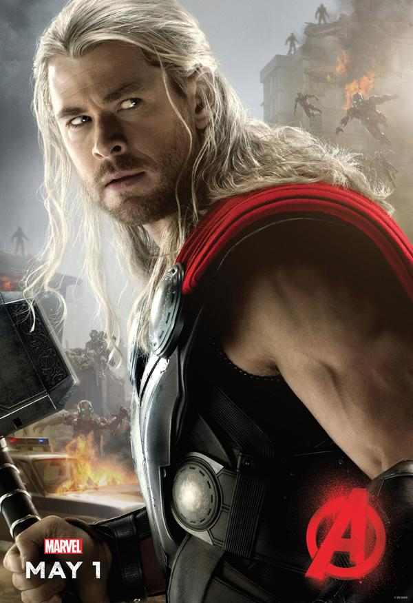 Avengers: Age of Ultron - il character poster di Thor