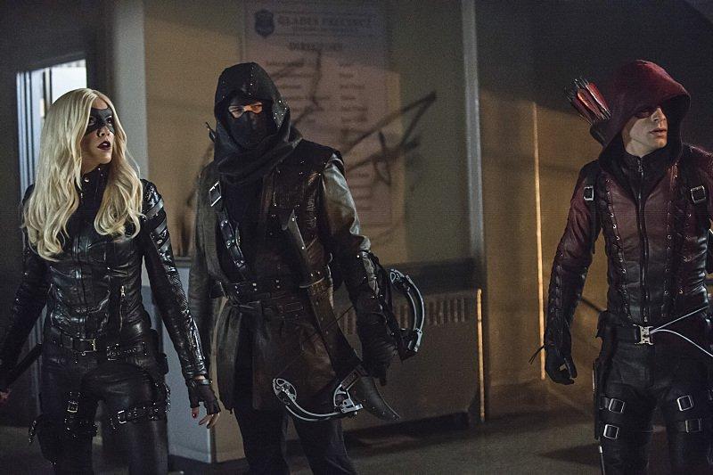 Arrow Season 3 Episode 12 Black Canary Merlyn Arsenal