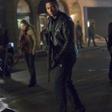 Arrow: David Ramsey interpreta Diggle nell'episodio Uprising