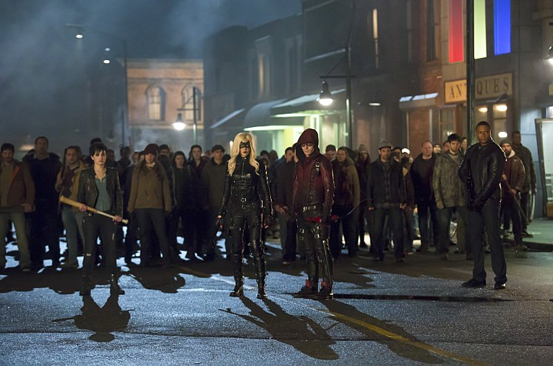 Arrow Season 3 Episode 12 Sin Black Canary Arsenal Diggle