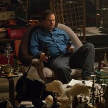 Backstrom: il protagonista Rainn Wilson in una scena della puntata Ancient, Chinese, Secret