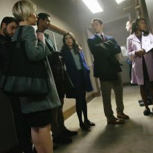 How To Get Away With Murder: Liza Weil, Jack Falahee, Alfred Enoch, Karla Souza, Matt McGorry e Aja Naomi King in Best Christmas Ever