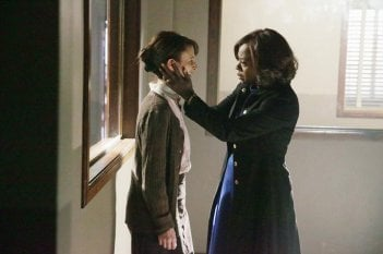 How To Get Away With Murder: l'attrice Viola Davis in una scena dell'episodio Best Christmas Ever