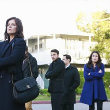 How To Get Away With Murder: Marcia Gay Harden, Jack Falahee, Matt McGorry, Karla Souza e Aja Naomi King in She's a Murderer