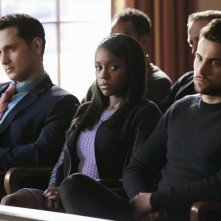 How To Get Away With Murder: Matt McGorry, Aja Naomi King e Jack Falahee in Mama's Here Now