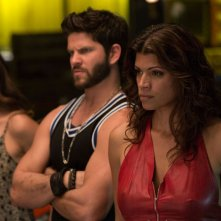 Superfast & Superfurious: Daniel Booko e Andrea Navedo in una scena del film