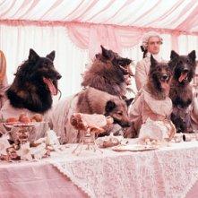 Una scena de In compagnia dei lupi