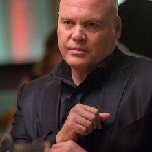 Daredevil: Vincent D'Onofrio interpreta Kingpin in una scena della serie