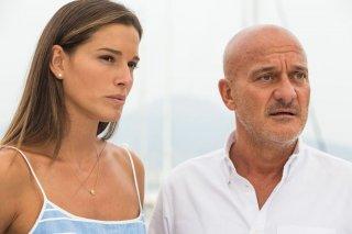 Ma che bella sorpresa: Chiara Baschetti e Claudio Bisio in una scena del film