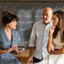 Ma che bella sorpresa: Claudio Bisio con Valentina Lodovini e Chiara Baschetti in una scena del film
