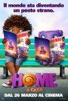 Home - A casa: Oh e Tip in uno dei poster italiani del film animato