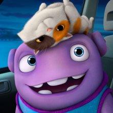 Home - A casa: Oh, il piccolo alieno, in una scena tratta dal film della DreamWorks Animation