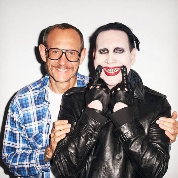 Marilyn Manson e il fotografo Terry Richardson