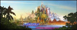 Zootopia: un'immagine della magica città di Zootopia in cui è ambientato il film