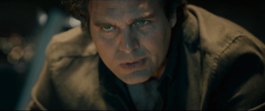 Avengers: Age of Ultron- Mark Ruffalo in una immagine tratta dal trailer del film