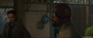 Avengers: Age of Ultron - Samuel L. Jackson in una scena del trailer