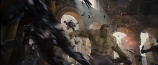 Hulk in una scena del trailer di Avengers: Age of Ultron