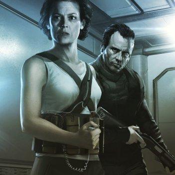 Ripley in uno dei concept art realizzati da Blomkamp per il suo progetto dedicato ad Alien