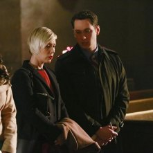 How To Get Away With Murder: Aja Naomi King, Liza Weil e Matt McGorry in The Night Lila Died