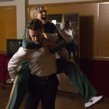 Glee: Matthew Morrison e Jane Lynch nell'episodio Child Star