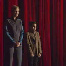 Glee: Jane Lynch in un'immagine della puntata Child Star