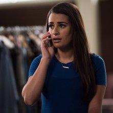 Glee: Lea Michele interpreta Rachel nell'episodio The Rise and Fall of Sue Sylvester