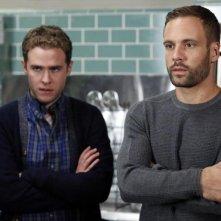 Agents of S.H.I.E.L.D.: gli attori Iain De Caestecker e Nick Blood nella puntata Aftershocks