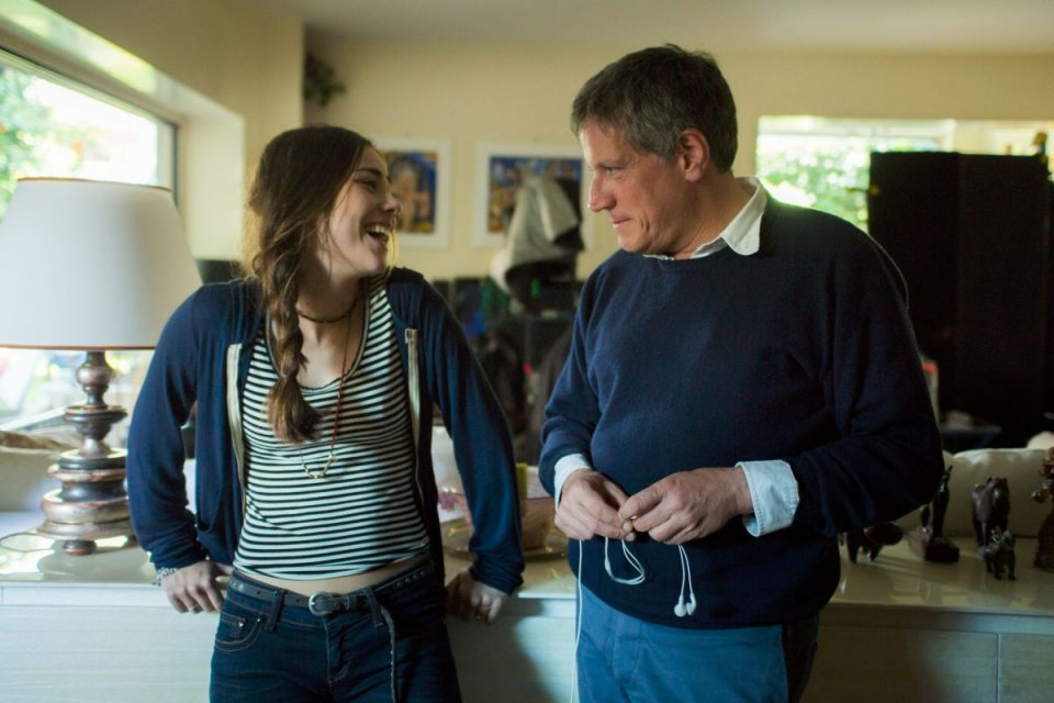 La prima volta di mia figlia: Riccardo Rossi con Benedetta Gargari sono padre e figlia in una scena del film