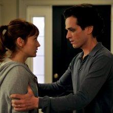 Una nuova amica: Romain Duris faccia a faccia con Anaïs Demoustier in una scena del film