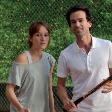 Una nuova amica: Romain Duris con Anaïs Demoustier in una scena