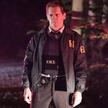 The Following: il protagonista Kevin Bacon in una scena di New Blood