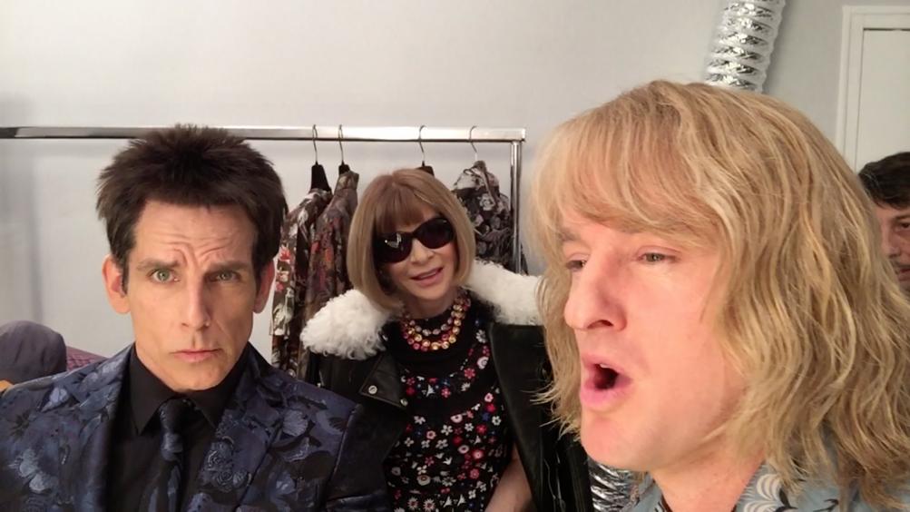 Zoolander 2 - Ben Stiller e Owen Wilson alla Fashion Week di Parigi con Anna Wintour