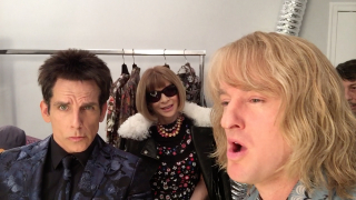 Zoolander 2 - Ben Stiller e Owen Wilson alla Fashion Week di Parigi con Anna Wintour